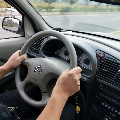 驾驶培训展教练