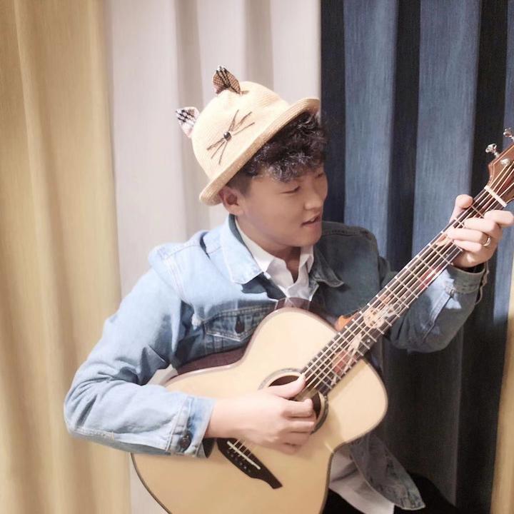阿金~吉他教学(亚伯拉罕吉他)